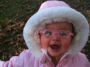 Caitlyn, 15 months.