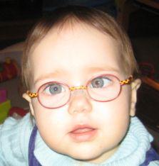 Zoe in glasses, Jan. 6