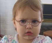 Zoe was not always happy in glasses.  Sometimes, she was downright skeptical.