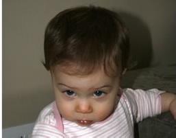 Anna at 10 months
