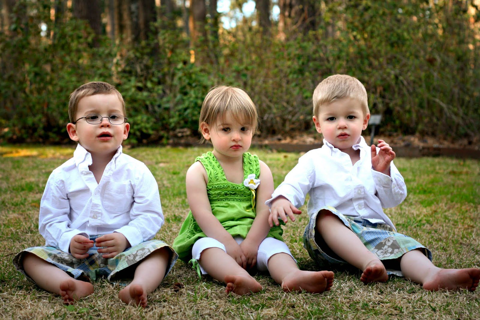 Your stories: dealing with triplets when one of them wears