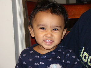Smiling Eyes (after his surgery for infantile esotropia)