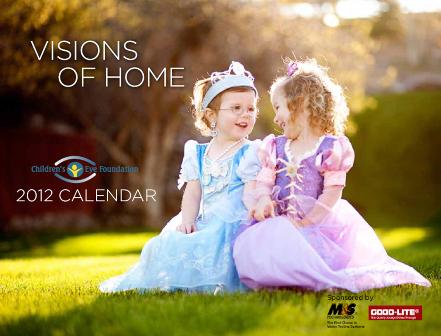 2012 Visions of Home calendar