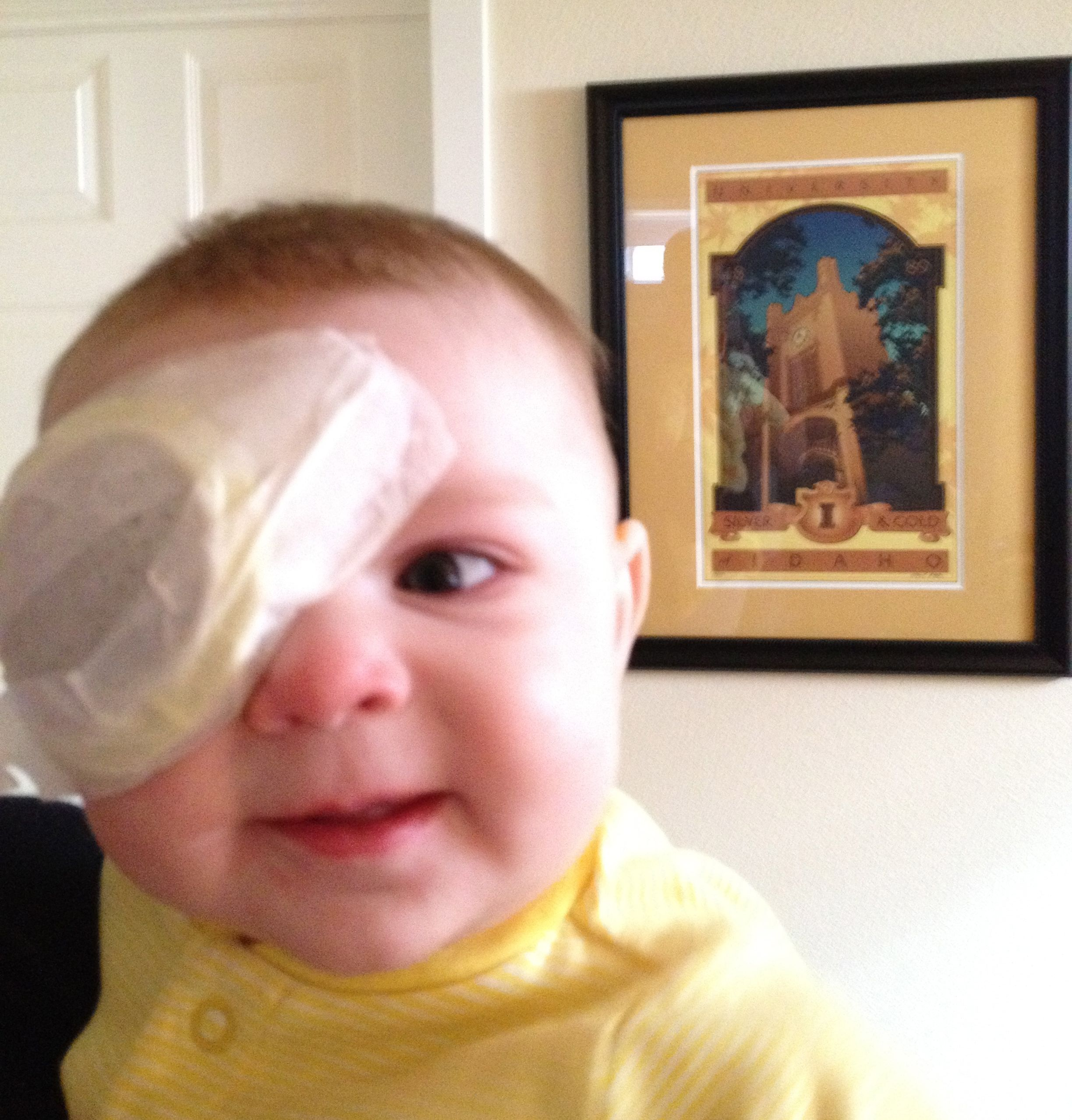 Your Stories The Adventures Of Ruby Her Eye Patch For Little Eyes