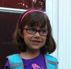 first day of first grade.
