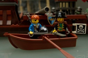 (lego) pirate.  Used under a Creative Commons license.  Image Copyright © 2009-present Joriel Jimenez. http://www.flickr.com/photos/joriel/3230590513/