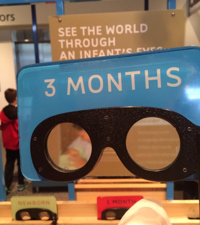 Frequently asked question: what does my child see?  A few vision simulators with caveats
