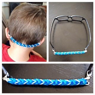 Tutorial A Rubber Band Loom Strap For Miraflex Glasses