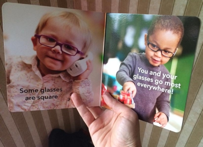 Glasses Board Book giveaway!!!