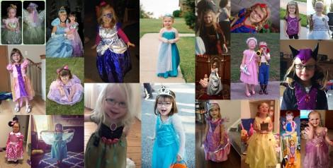 Princesses in glasses