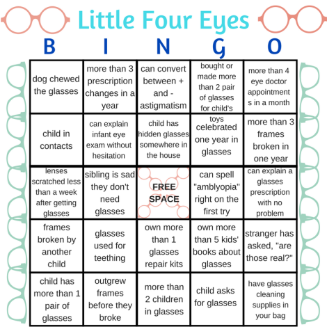 Little Four Eyes Bingo! (1)