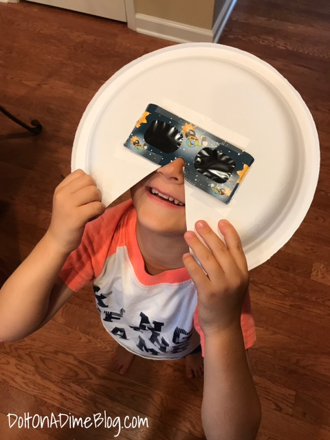 picture about Printable Solar Eclipse Glasses referred to as Little ones within gles and the eclipse For Small Eyes